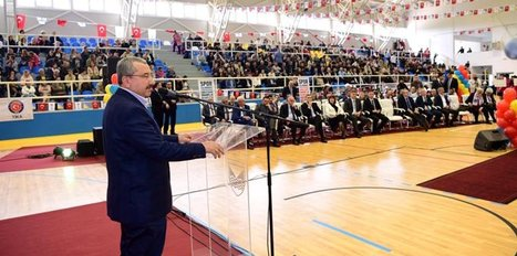 Gornji Vakuf'a yaptırılan Spor Salonu törenle açıldı