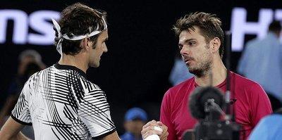Avustralya Açık'ta ilk finalist Federer