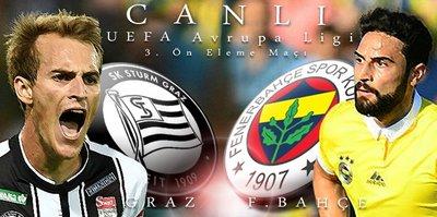 Sturm Graz - Fenerbahçe   CANLI