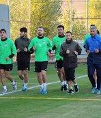 Elaz��spor'da Yeni Malatyaspor ma�� haz�rl�klar� s�r�yor