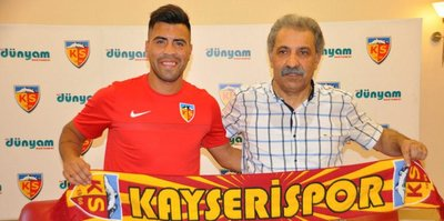 Kayserispor, Espinoza ile sözleşme imzaladı