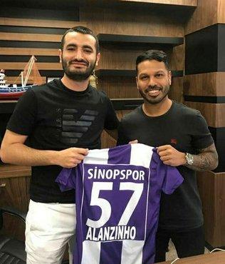 Alanzinho, Sinopspor'da