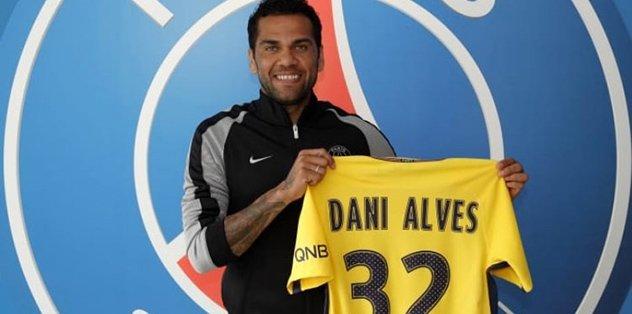Daniel Alves, PSG'de