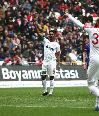 Kamerunlu oyuncu galibiyeti getirdi
