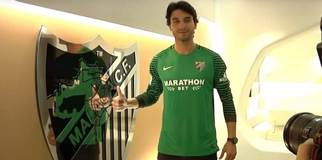 Malaga signs G.Saray goalkeeper Gonen