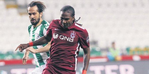 Trabzonspor'da ilk golünü attı