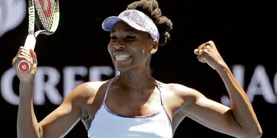 Avustralya Açık'ta ilk yarı finalist Venus Williams