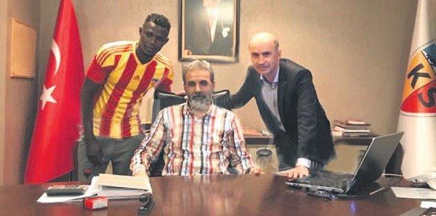 Hoş geldin Stephane Badji