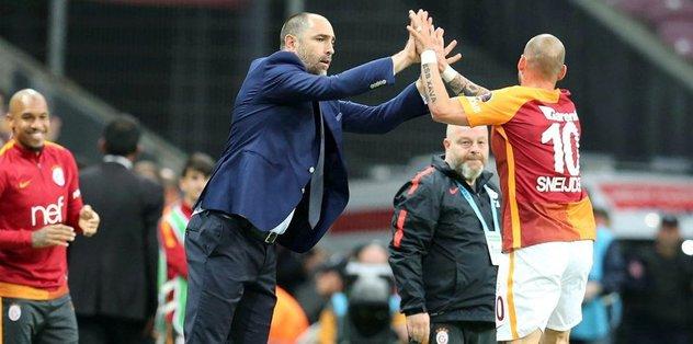 Sneijder'den 3 maçta 3 gol