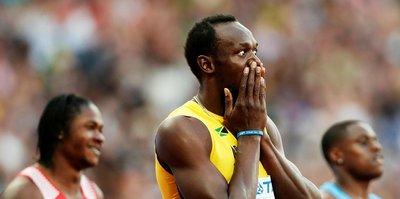 Usain Bolt son 100 metre yarışını kaybetti