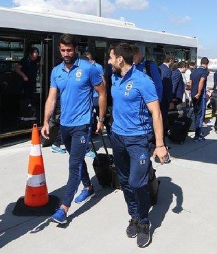 Fenerbahçe Hollanda'ya uçtu