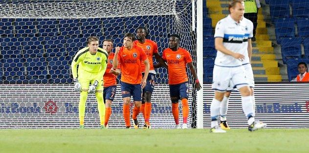 Medipol Başakşehir, Club Brugge'ü eleyen ilk Türk takımı oldu