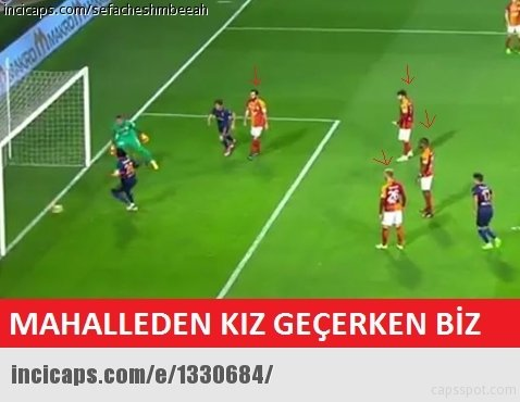 Başakşehir - Galatasaray capsleri!