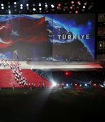 Olimpiyat ateşi Samsun'da yandı