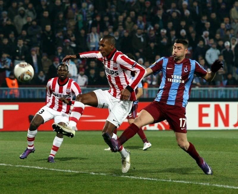Trabzonspor - PSV (UEFA Avrupa Ligi 2. tur ilk maçı)