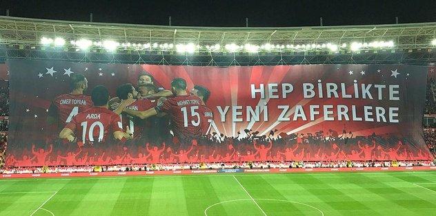 Eskişehir'de maçın yıldızı taraftar!