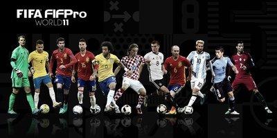 FIFA Yılın 11'i açıklandı