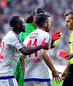 Karabükspor'da penaltı tepkisi