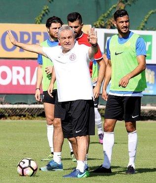 Antalyaspor taktik �al��t�