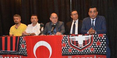 Gaziantepspor'da başkan Özpineci