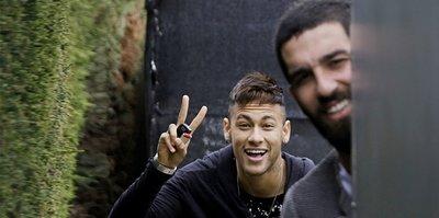 Arda Turan'dan Neymar'a veda