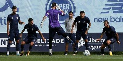 Porto, Beşiktaş maçı hazırlıklarını tamamladı