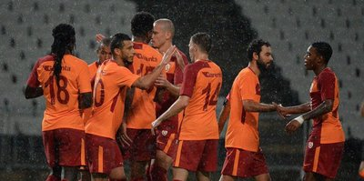 Belhanda attı Galatasaray kazandı