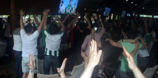 Bursa'da kümede kalma sevinci
