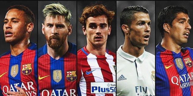 En değerli futbolcular listesi açıklandı