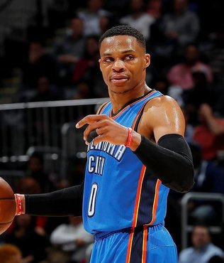 """Bay triple double"" Russell Westbrook"