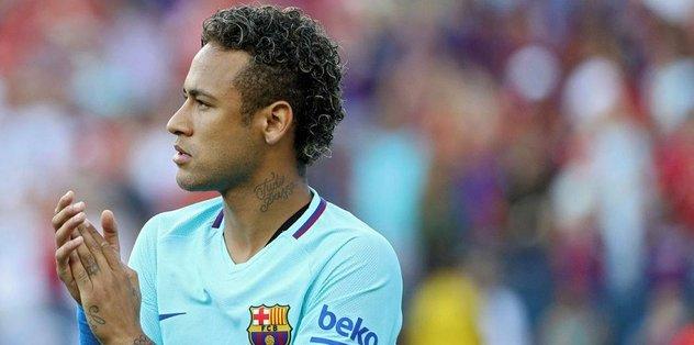Neymar PSG'de