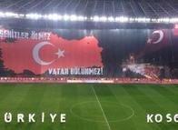 Türkiye - Kosova maçından fotoğraflar