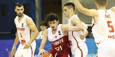 Türkiye - Karadağ: 80-72