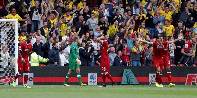 Liverpool son dakikada yıkıldı
