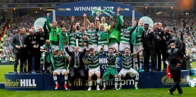 İskoçya Kupası'nda şampiyon Celtic