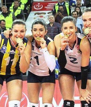 Kupa Voley şampiyonu Fenerbahçe