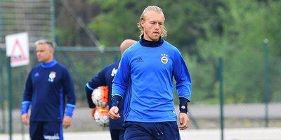 Fenerbahçe'ye müjde: Kjaer takımla çalıştı