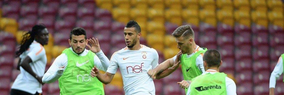 Galatasaray'a Belhanda'dan iyi haber!