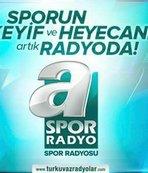 A Spor Radyo tüm Türkiye'de