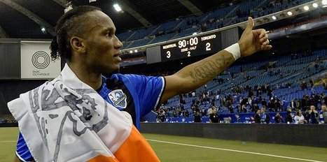 Drogba bids farewell to Montreal