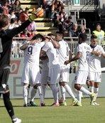 Gol düellosunun galibi Fiorentina