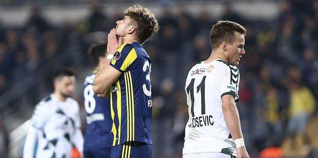 Konyaspor defeat Fenerbahce