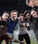 Emre Çolak, futbol turnuvasını ziyaret etti