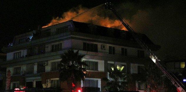Cavanda'ya yangın şoku