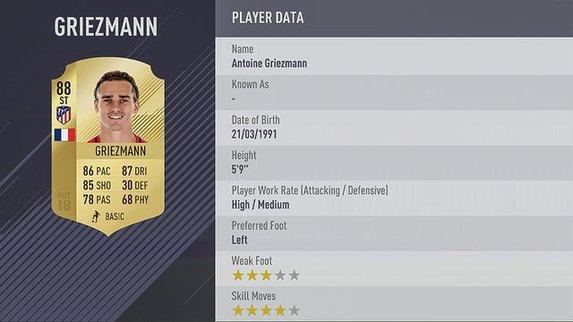 FIFA 18'de en iyi 100 isim açıklandı!