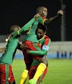 Kamerun'u galibiyete taşıdı