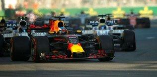 Formula 1'de büyük heyecan