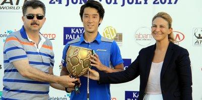 Antalya Open'da Japon Sugita şampiyon oldu