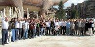 Osmanlısporlu futbolcular, Ankaparkta stres attı