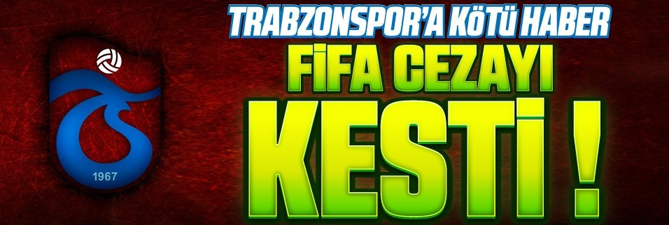 FIFA�dan k�t� haber